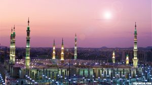 Madinah during the night