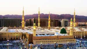 madinah during the day wallpaper