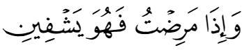 dua of prophet ibrahim 26:80