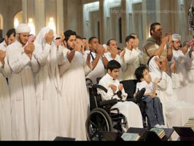 disabled praying